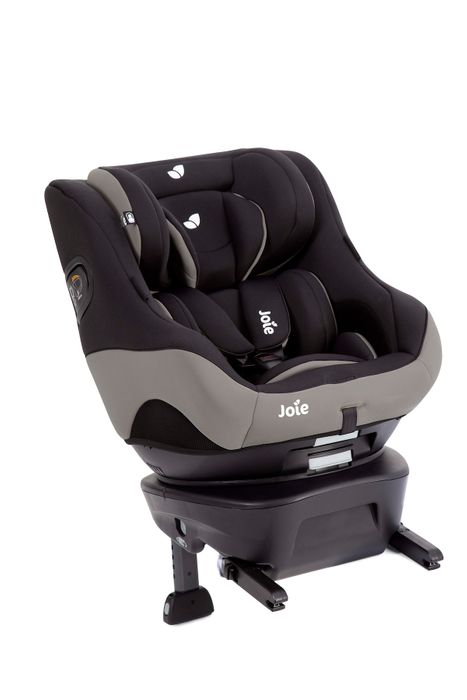 Joie SpinSafe i-Size Reboard Kindersitz Kollektion 2021 - Farbe: Black Pepper
