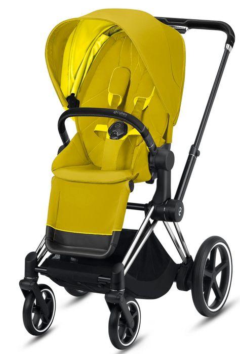 CYBEX e-PRIAM Kinderwagen Gestell inkl. Seat Pack - Kollektion 2021