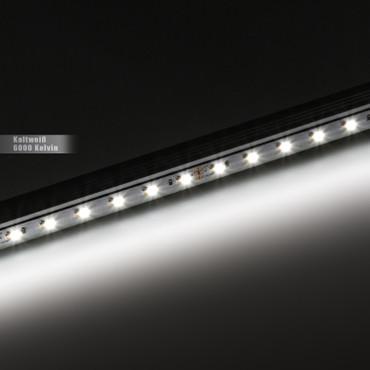 LED Band 3-Chip 5050, kaltweiß, 60 LED/m, 14,4W/m, 24Vdc, IP20, RA 90+ – Bild 3