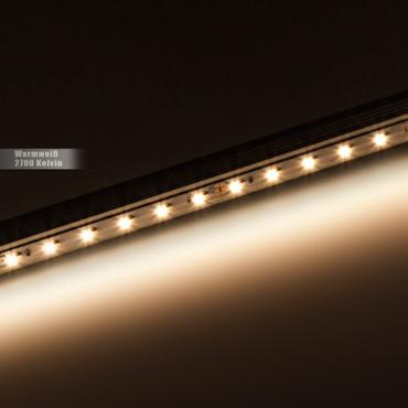 LED Stripe 3-Chip 5050, warmweiß, 60 LED/m, 14,4W/m, 12Vdc, IP20, RA 90+ – Bild 3