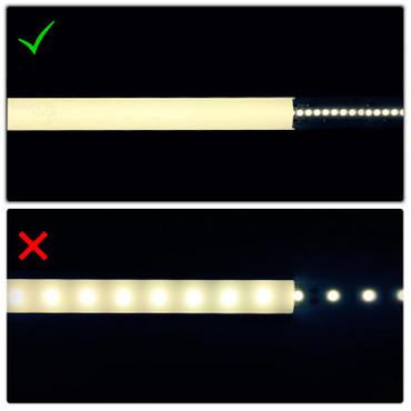 LED Flex Band 2835, neutralweiß, 240 LED/m, 23,0W/m, 24Vdc, IP20, RA 94+ – Bild 4