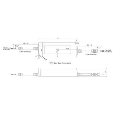 LED Netzteil 12V 120W Mean Well NPF-120-12 Schaltnetzteil Trafo Netzgerät – Bild 2