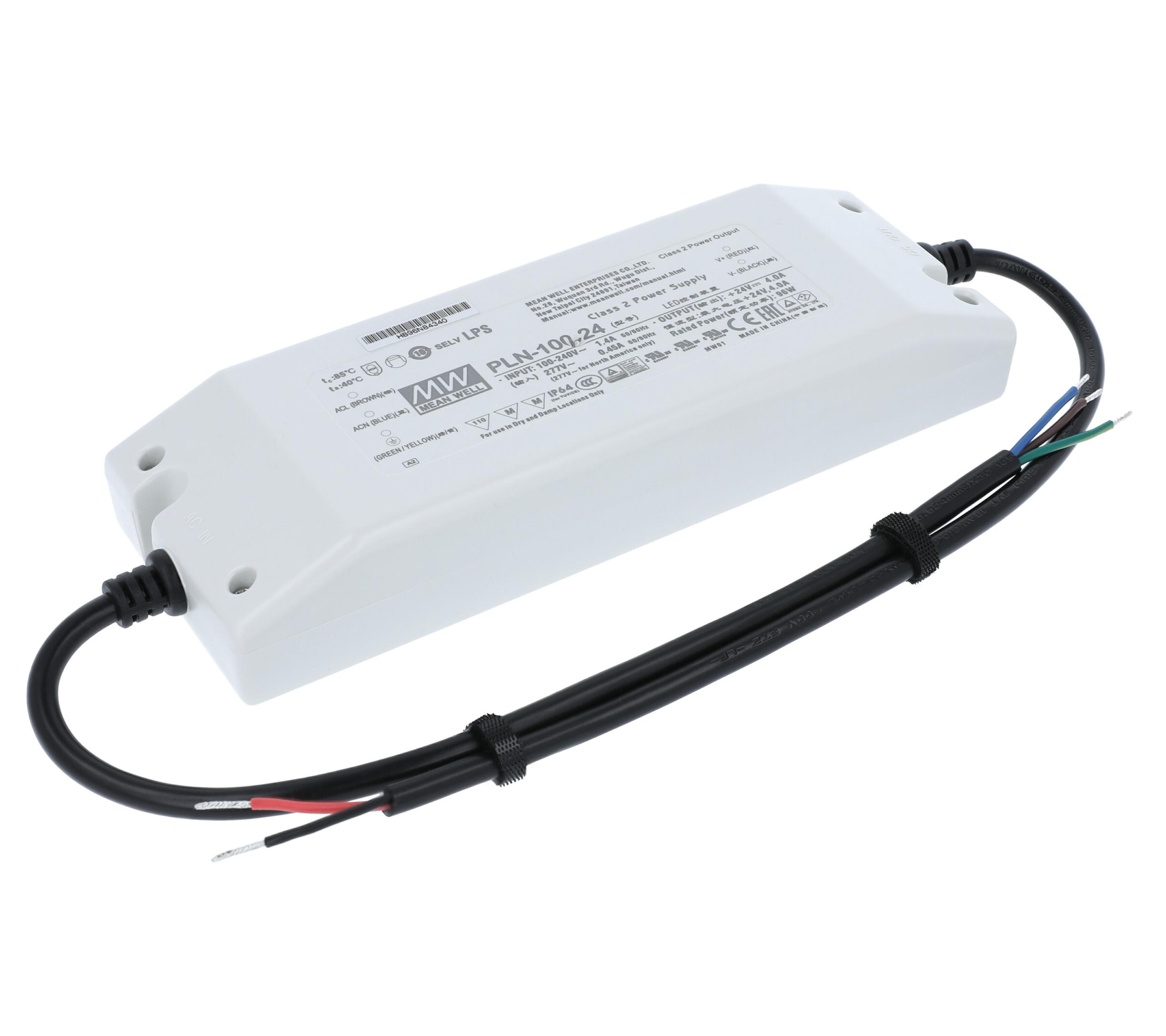Netzteile LED Netzteil 24V 96W Mean Well PLN-100-24 Schaltnetzteil ...