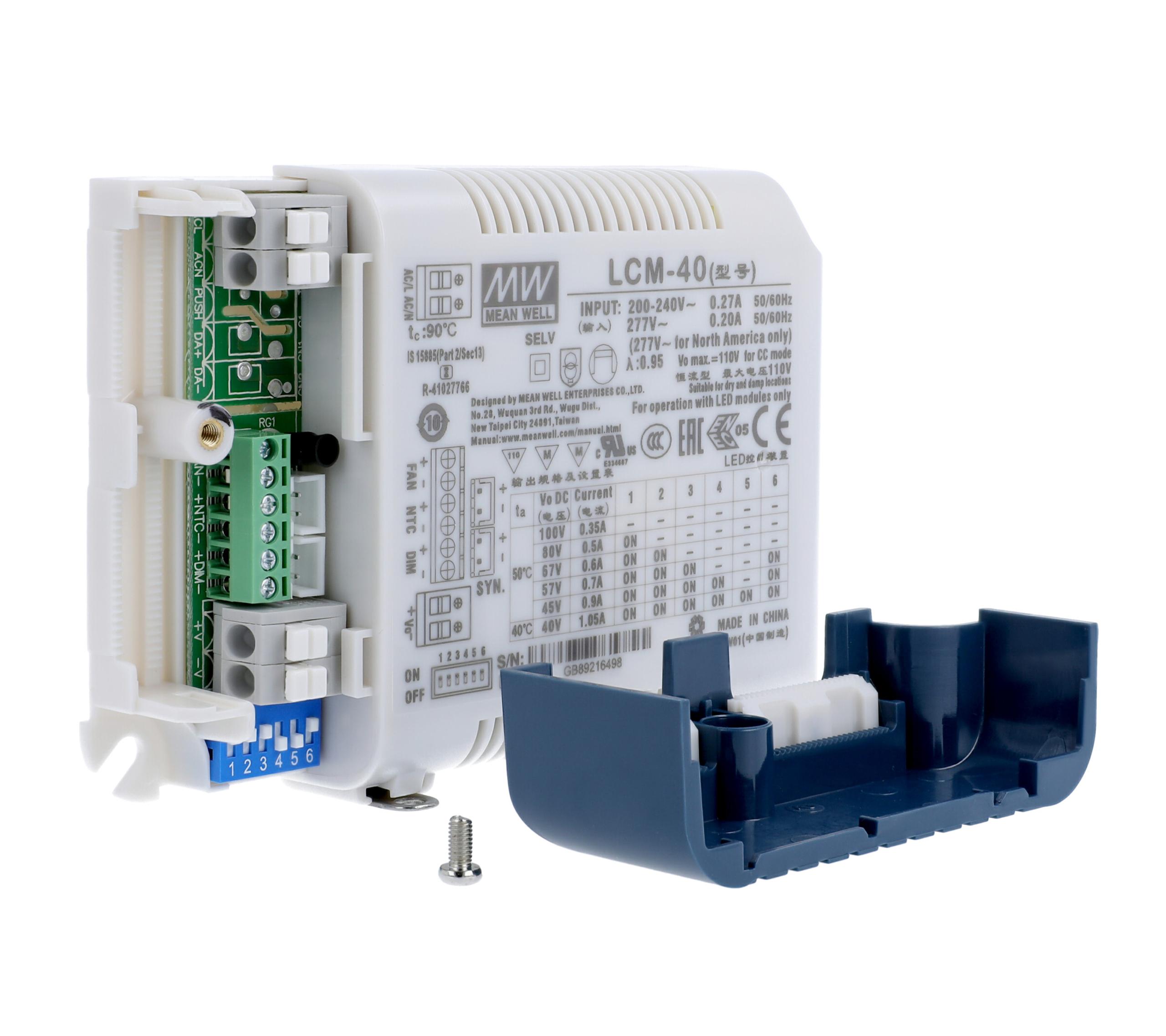 MeanWell LCM-40 LED-Schaltnetzteil