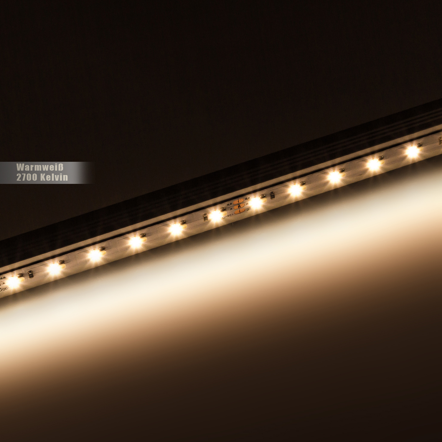 led band 1 chip 3528 warmwei 180 led m 14 4w m 24vdc. Black Bedroom Furniture Sets. Home Design Ideas