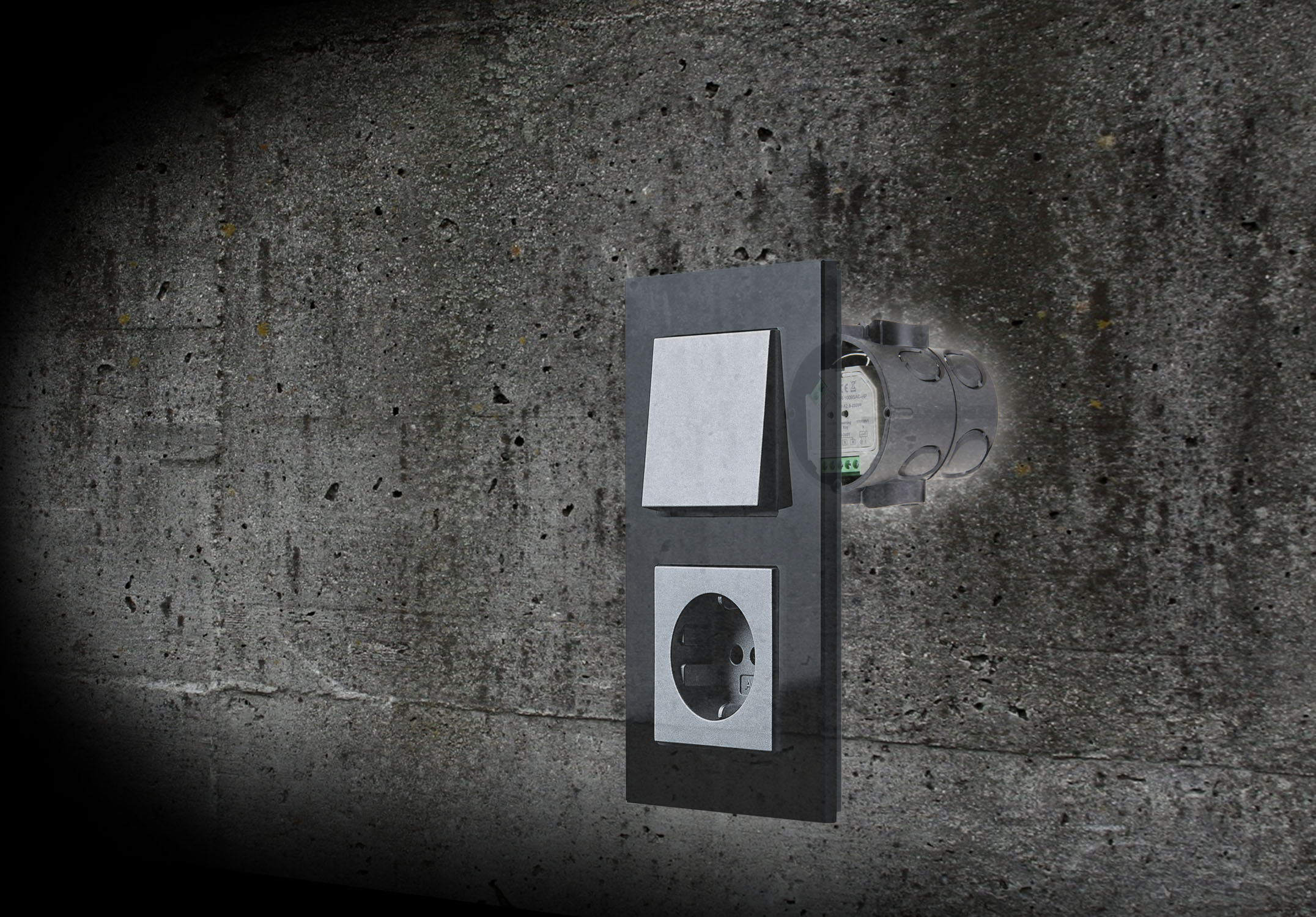 universal smart dimmer f r r l c lasten dimmbare 230v led lampen und triac s max 400watt. Black Bedroom Furniture Sets. Home Design Ideas