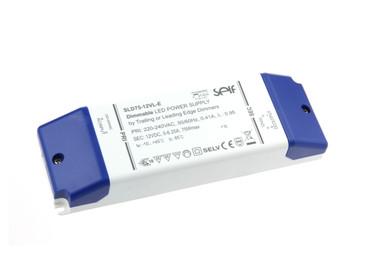 ✅ DIMMBAR LED NETZTEIL 12Vdc 6,25A 75Watt, SELF SLD75-12VL-E Phasenabschnitt