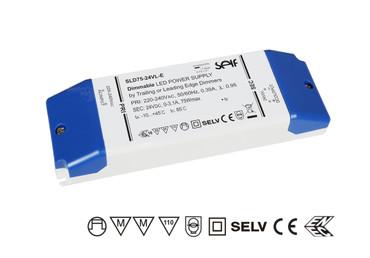 ✅ DIMMBAR LED NETZTEIL 24Vdc  3,1A 75Watt, SELF SLD75-24VL-E Phasenabschnitt
