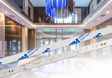 Komplettset: von 15m bis 100m, LED Strip + Netzteil, WARMWEIß 2700K, 103Lm/W, 6W/m, 84LEDs/m, RA 94
