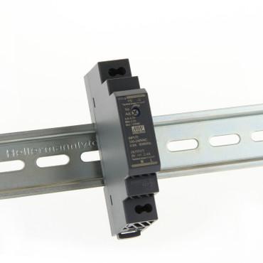 LED Hutschienen Netzteil HDR 5V 12V 24V 48V, von 12W bis 92,2Watt MeanWell DIN-Rail   – Bild 3