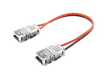 8mm LED Schnell Verbinder für Streifen 2-Pin Adapter Strip / Stripe – Bild 1