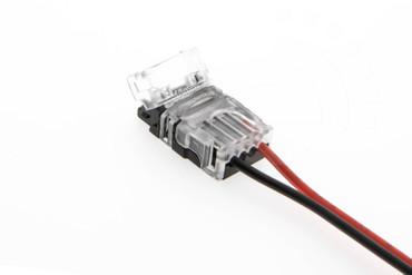 8mm LED Schnell Verbinder für Streifen 2-Pin Adapter Strip / Kabel – Bild 4