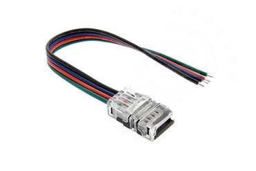 10mm RGB Schnell Verbinder für LED Streifen 2-Pin Adapter Strip / Kabel – Bild 1