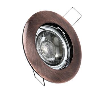LED Einbaustrahler | Antik | Alu-Druckguss | GU10 MR16 | 2809 – Bild 1