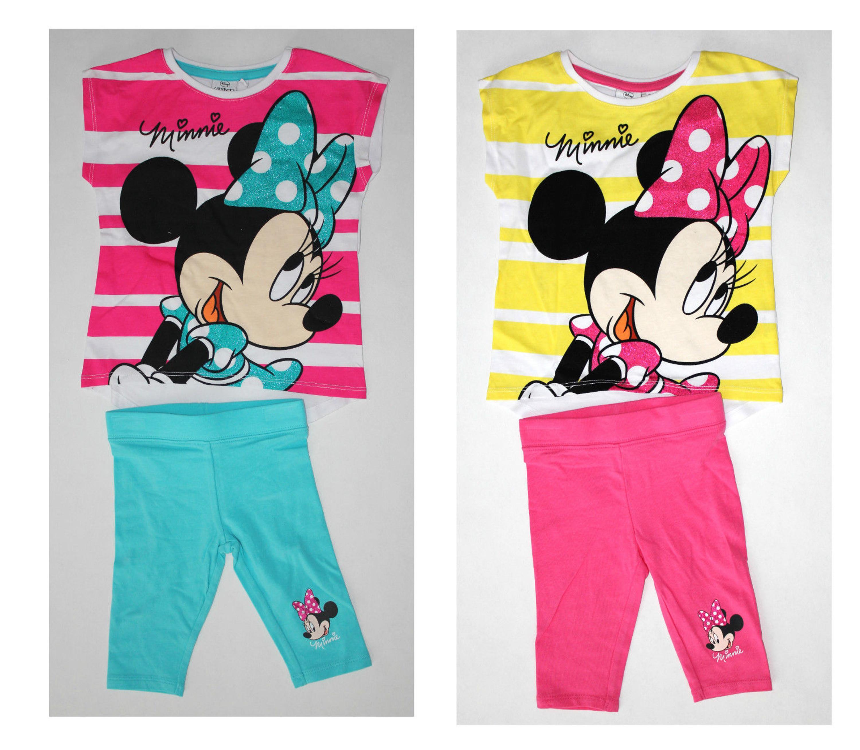 Minnie Mouse Kinder Mädchen Set aus Leggins  und T-Shirt Gr.104-140 Shirt  neu!