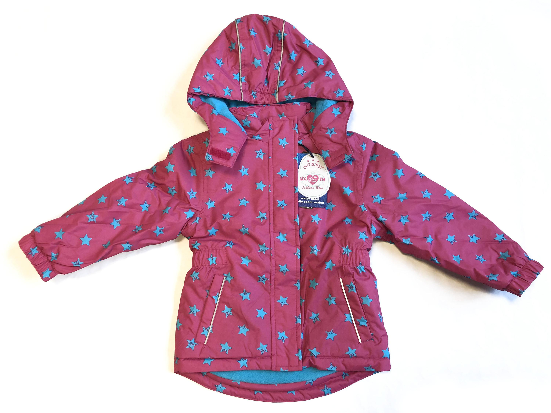 Details zu Outburst Mädchen Kinder Anorak Gr.98 140 Skijacke Winterjacke pink neu!