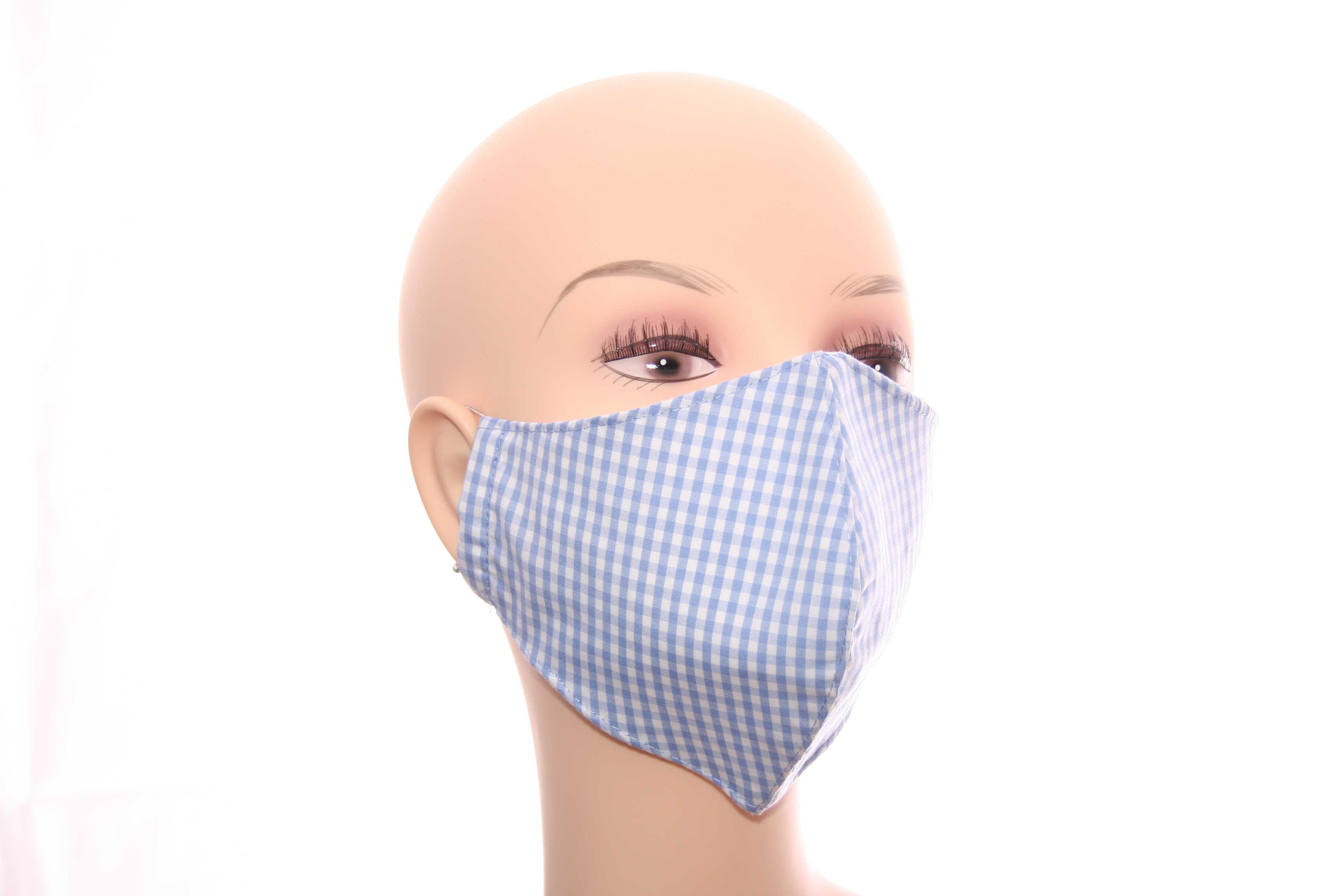 Gemusterte Stoffmasken