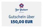 """Restaurant Gutschein 150 Euro – Bayerisch Essen gehen im Wirtshaus """"Der Pschorr"""" 001"""