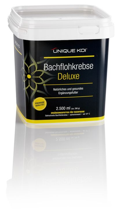 Unique Koi Bachflohkrebse 2500 ml (ca. 290 g)
