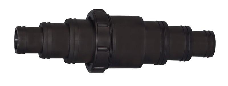 Schnellkupplung für Schlauch 2 x 32,40,50 mm