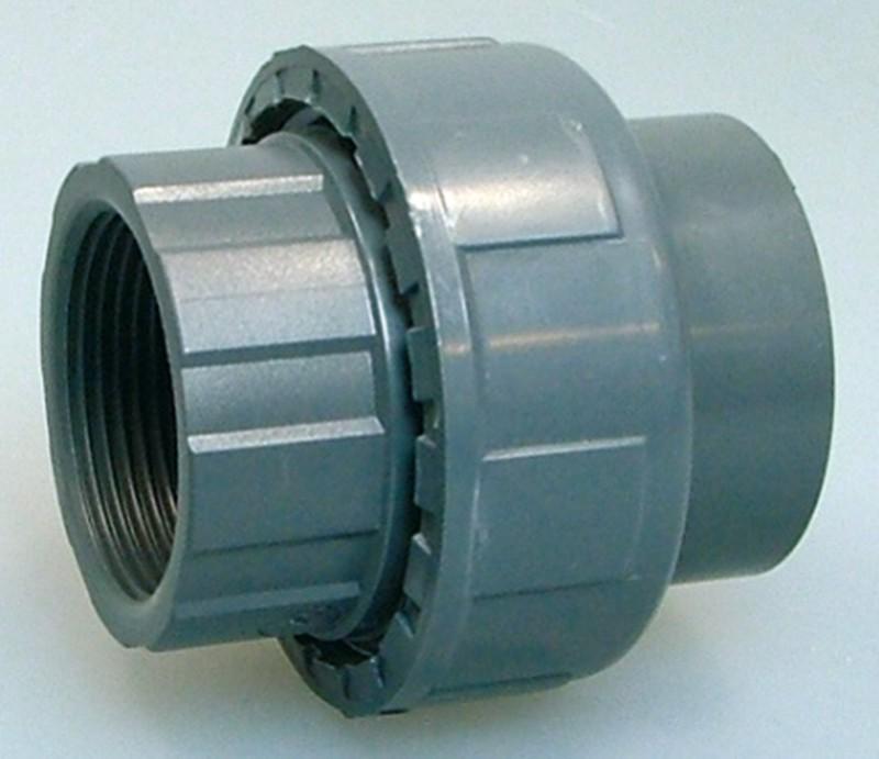 PVC-Kupplung mit Innengewinde