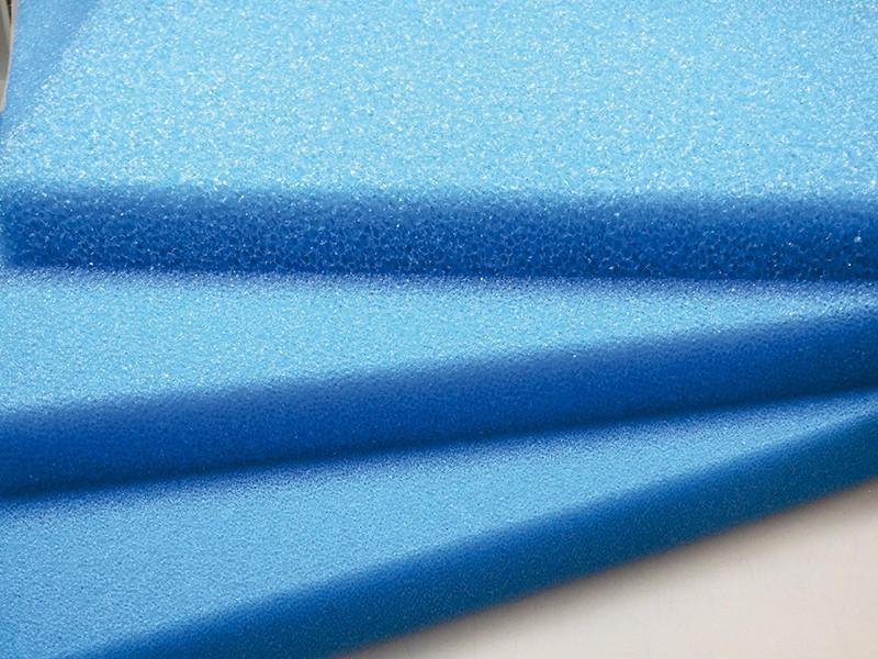 Schaumstoffmatte blau 50 x 50 x 10 cm