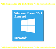 MS Win Server Standard 2012 R2  x64 DVD 2CPU/2VM dt. DSP