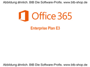 MS Office 365 Enterprise Plan E3 Subscription OPEN 1 Jahr
