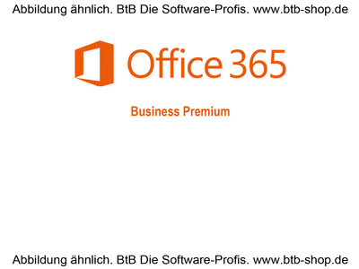 MS Office 365 Business Premium Subscription 1 Jahr OPEN