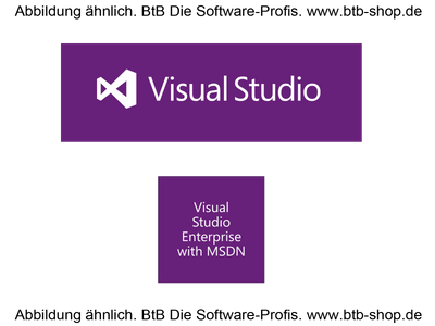MS Visual Studio Enterprise wMSDN SA OPEN Value (1 Jahr)