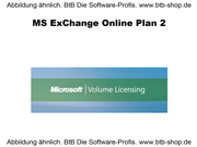 MS Exchange Online Plan 2 OPEN 1 Jahr