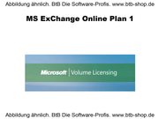 MS Exchange Online Plan 1 OPEN 1 Jahr