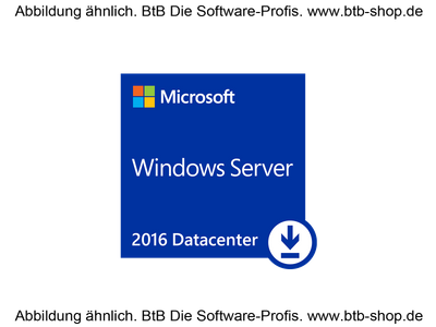 MS Win Server Datacenter 2019, 16 Core DSP
