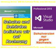 EDU MS Visual Studio Pro 2019 OPEN E