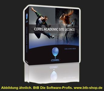 Corel Academic Site License Level 1 Buy-out Schulversion/EDU