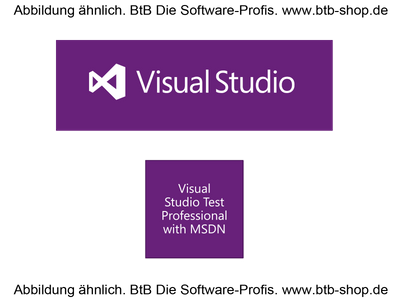 MS Visual Studio Test Pro wMSDN Lic/SA Open Value 1 Jahr