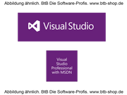 MS Visual Studio Pro wMSDN SA OPEN Value (1 Jahr)