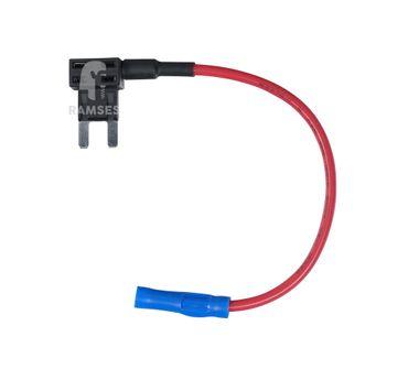 EisenRon DS-tec - Flachstecksicherungshalter Mini 1,5mm²  5 Stück