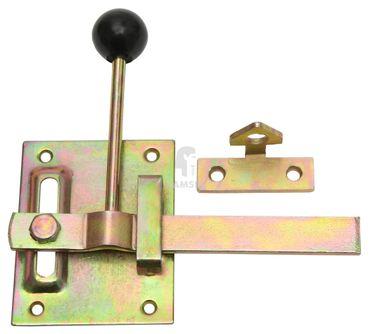 EisenRon DS-tec - Gartentorfalle Form I 100 mm Stahl verzinkt  1 Stück