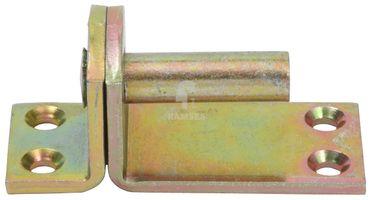 EisenRon DS-tec - Kloben auf Platte Form I Stahl verzinkt