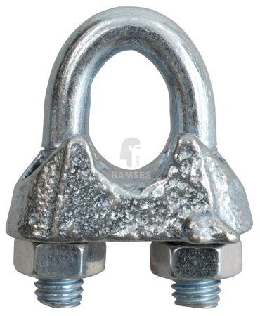 EisenRon DS-tec - Seilklemmen für Seile Stahl galvanisch verzinkt