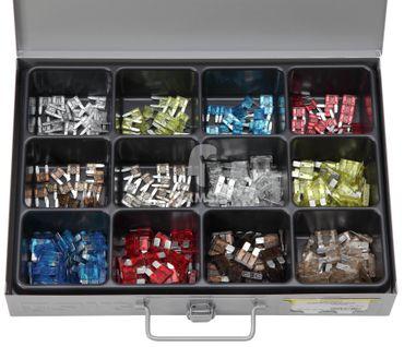 EisenRon DS-tec - Sortiment Sicherungen Standard 5 -25 Amp, Mini 5 -25 Amp  300 Teile