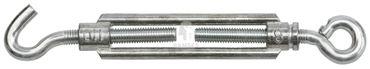 EisenRon DS-tec - Spannschloss mit Haken / Öse Stahl galvanisch verzinkt