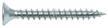 EisenRon DS-tec - Spanplattenschrauben Vollgewinde Senkkopf Stahl verzinkt PZ