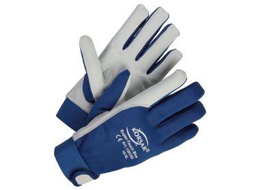 Mechanikerhandschuhe Leder - KORSAR® Super-Touch Größe 9 / L