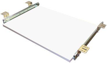 Tastaturauszug in weiss 80x30 cm Nutzhöhe XL 77mm zum Nachrüsten - eigene Herstellung