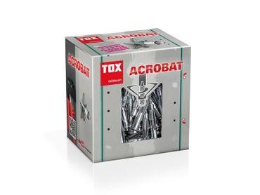 TOX Metall-Hohlraumdübel Acrobat M5 x 52 - 50 Stück – Bild 2