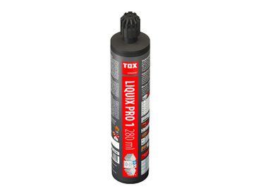 Verbundmörtel TOX  Liquix Pro 1, styrolfrei  - 280 ml - inkl. 2 Mischern – Bild 1
