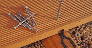 Profi Terrassenschrauben 5x60 mm - 500 Stück A2 Edelstahl mit Bit – Bild 3