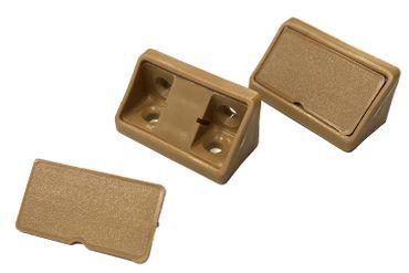 Korpusverbinder hellbraun / beige universal - 100 Stück